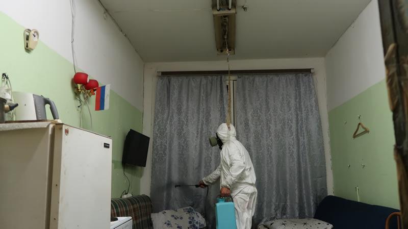 Профессиональное уничтожение клопов в Балашихе с обработкой помещений от СЭС Биотрикс